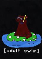 Adult Swim by little-razorblade