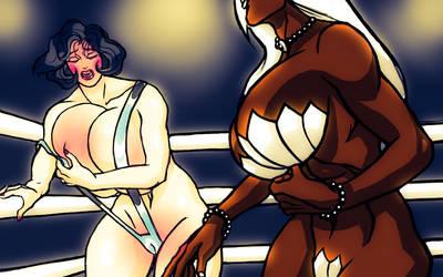 Rose DDD-21 Wrestling! Pearl Nicholass! by catfitemike