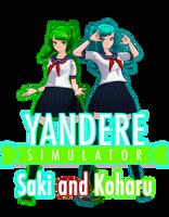 [download] TDA Koharu Hinata and Saki Miyu by FiciAxe