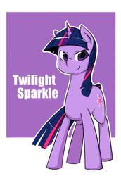 Twilight Sparkle by ya0427