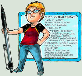 CS profile 2014 by CoralSnake