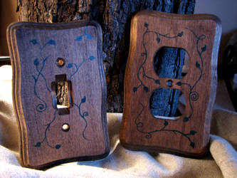 Switch-Plug Vines Collection by ErurainaCrafts