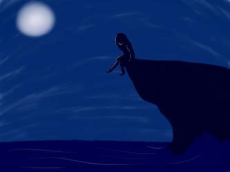 Ocean girl by IlayaWolf