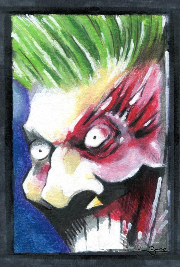 Sketch Joker by b-no by b-no