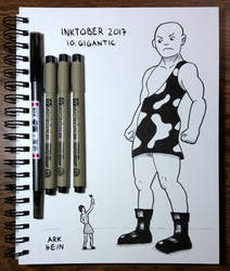 Inktober 2017 Day 10 by Arkhein