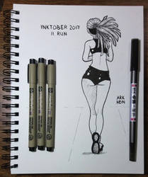Inktober 2017 Day 11 by Arkhein