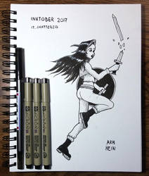 Inktober 2017 Day 12 by Arkhein