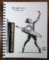 Inktober 2017 Day 17 by Arkhein