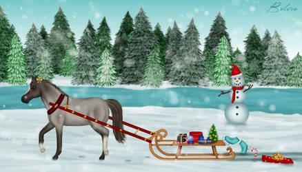 Sleigh ride by Bolero-lief