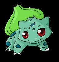 001. Bulbasaur by ChibiTigre