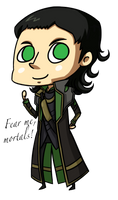 Loki by ChibiTigre