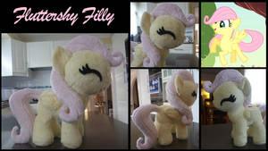 MLP: Fluttershy Filly Plush by ChibiTigre