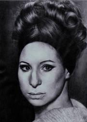 Barbra Streisand by steyfi