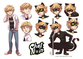 Chat Noir by Mo-Time