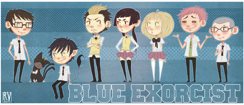 Blue Exorcist. by Flaii-chan