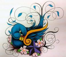Bird by MzXIII