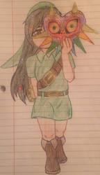 (WiR/Zelda Crossover!) Vanellope as Link by Reborn-Nerd