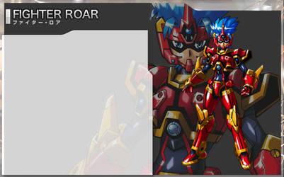 Fighter Roar 'hero material' by wolf-yuuki