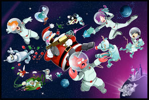 Planet Express X-Mas Battle by gottabecarl