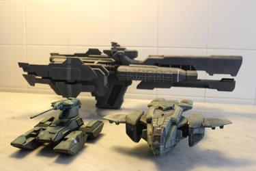 Halo movie miniatures by Kawassass00