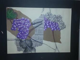 Grapes Still Life by AllGirlsBoyBand