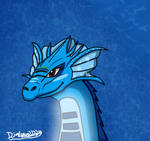 The Guardian Dragon of the Sea by Dialga22239