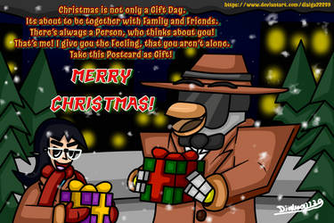 Merry Christmas! (Holiday Postcard 2018) by Dialga22239