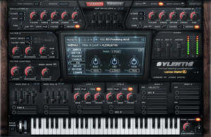 Lennard Sylenth1 Dark Skin vst gui design by Scott-Kane