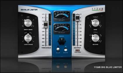 112dB Big Blue Limiter skin by Scott-Kane