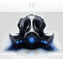 Gas Mask Interface by Scott-Kane