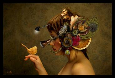 SteamGirl by Artbyspirite