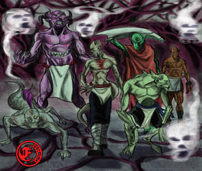 The devils vampires by emrad