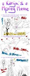 Karijn's Mpreg Meme by IllusionEvenstar