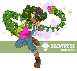 ARMS - Scentress by MrHaliboot