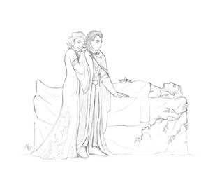 [Comm'ed] A dead father and husband by Iakobbaz