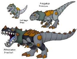 Prehistoric Monster by FawkesTheSkarmory
