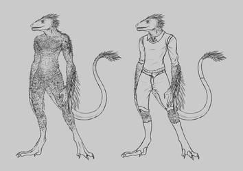 Creature Design - Ljosalfar (Male) - WIP by Fyrisvellir