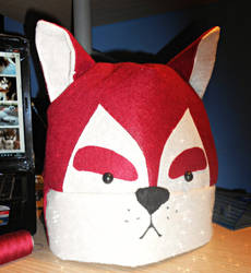Red Husky Hat by ChiakiHino