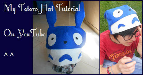 TOTORO HAT TUTORIAL :) by ChiakiHino