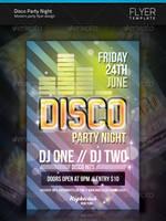 Disco Flyer by artnook