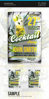 Cocktail Flyer by artnook