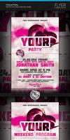 Unique Party Flyer by artnook