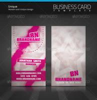 Unique Business Card by artnook