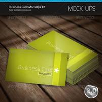 Business Card Mock-Ups 2 by artnook