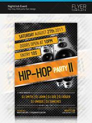 Nightclub Event Flyer Template by artnook