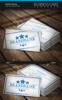 Rubber Stamp Business Card by artnook