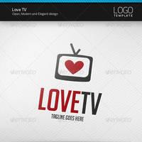 Love TV Logo by artnook