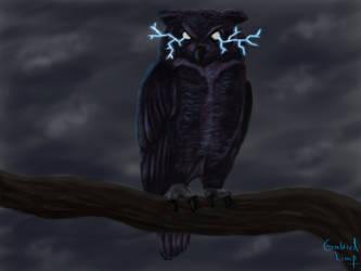 The Dark Owl by gabrielsslf