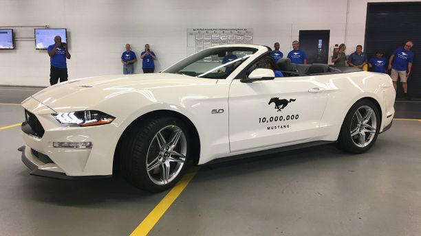 10 Millionth Ford Mustang Revealed by themotormasters