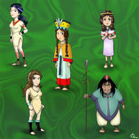 MCoG- The Amazons by Aedua